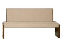 višina: 94 cm   širina: 60 cm  globina: 180 cm  les: Ameriški oreh NARAVNI  tekstil: 078