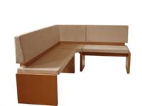 višina: 93 cm   širina: 243 cm  globina: 163 cm  les: Bukev NATUR  tekstil: 078