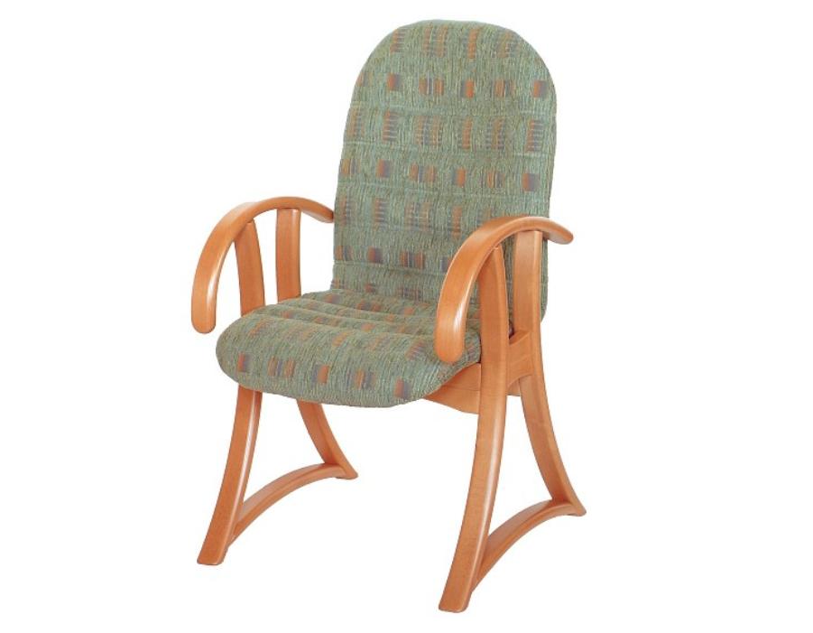 višina: 95 cm širina: 56 cm globina: 57 cm les: Bukev NATUR tekstil: vzorčno blago